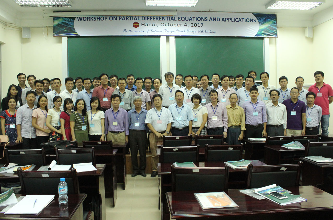 Workshop on Partial Differential Equations and Applications