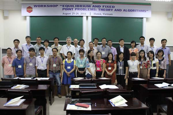 "Workshop ""Equilibrium and Fixed Point Problems: Theory and Algorithms"""