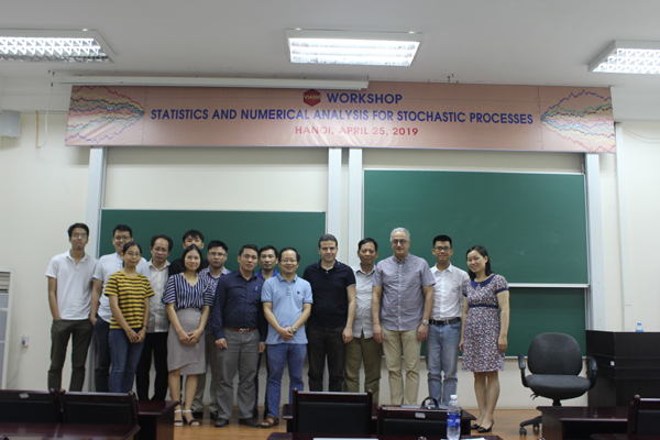 The Workshop on Statistics and Numerical Analysis for Stochastic Processes