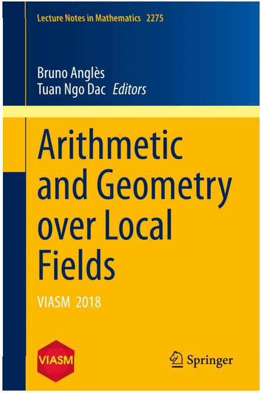 "Giới thiệu cuốn sách ""Arithmetic and Geometry over Local Fields"""