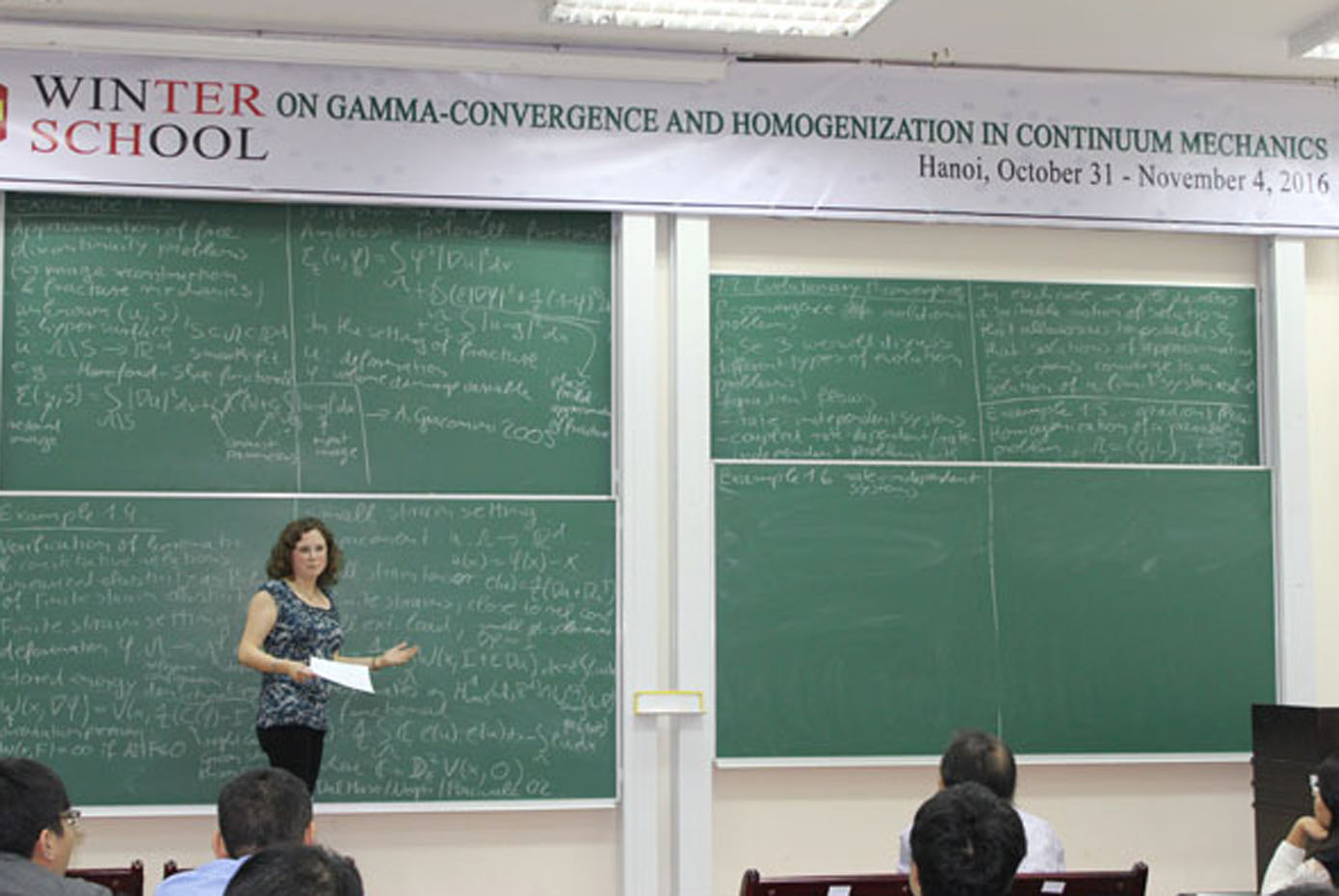 The winter school on Gamma-Convergence and Homogenization in Continuum Mechanics