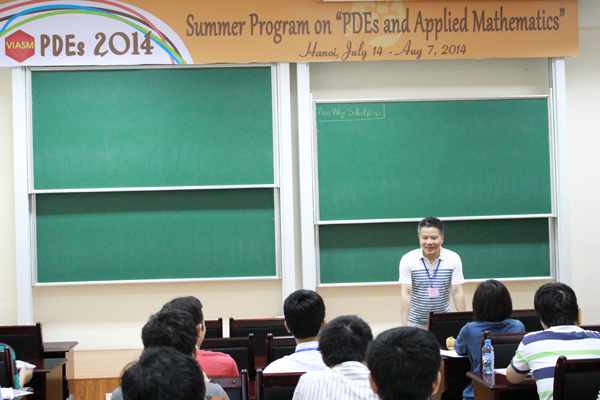 "Summer Program on ""PDEs and Applied Mathematics"" has opened"
