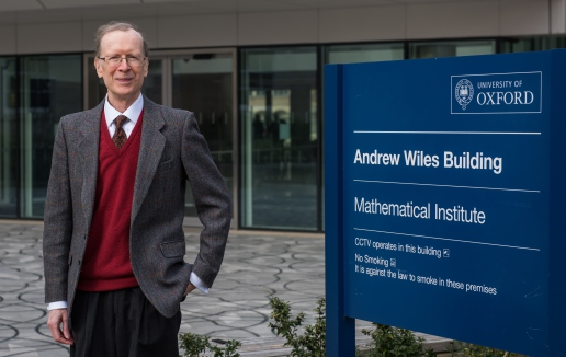 Sir Andrew J. Wiles receives the Abel Prize