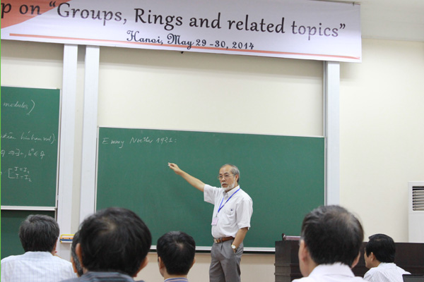 "Mini-workshop ""Groups, Rings and related topics"""